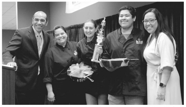 Sonora High Chefs Win First Place
