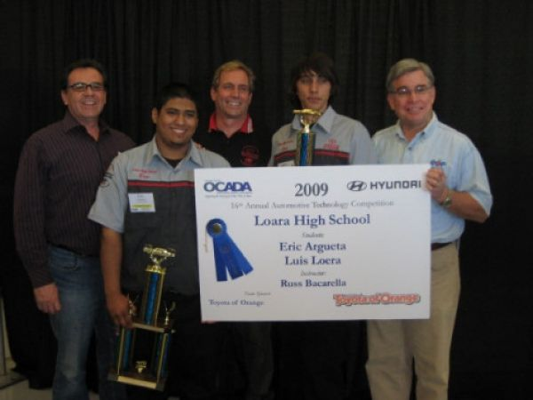 Anaheim students place tops in automotive technology competition